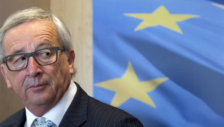 EU-Komissionspräsident Jean-Claude Juncker in Brüssel