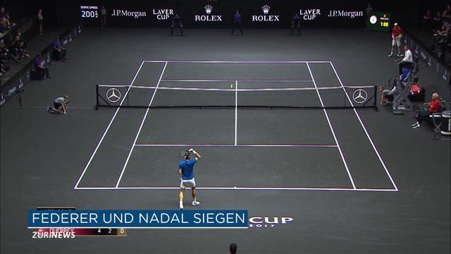 Federer-Nadal-Doppel im Laver Cup