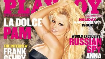 Pamela Anderson zieht sich für den Playboy wieder mal aus