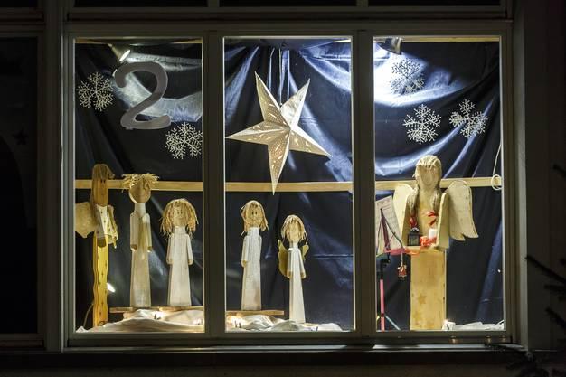 Adventsfenster der Stiftung Rodania vor zwei Jahren.