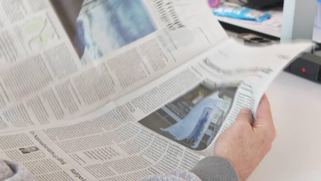 Brand in Papierfabrik: Zeitungen werden diesen Monat dünner