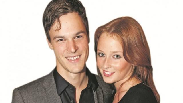 Bastien Girod, Ellen Tkatch: Das glückliche Paar will bald heiraten. Foto: AZ