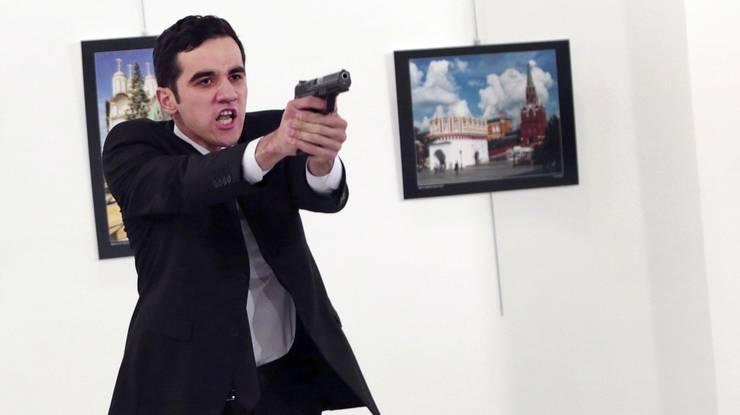 Dieser Mann hat den russischen Botschafter erschossen