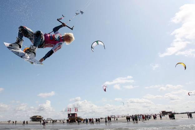 Am Weltcup nehmen Kitesurfer aus 19 Nationen teil