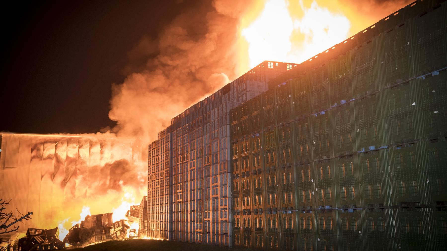 Im März 2018 brannte die Tobi AG in Egnach.