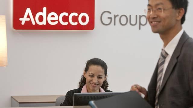 Der Personaldeinstleister Adecco baut sein Geschäft in den USA aus (Archiv)