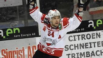 Julien Staudenmann schoss für den Leader das vorentscheidende 2:0