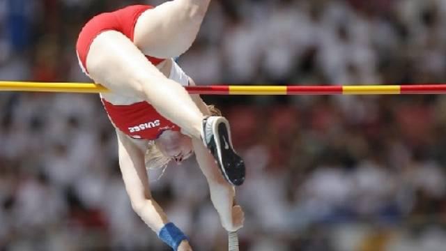 Nicole Büchler sprang Schweizer Rekord