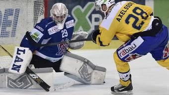 Dick Axelsson bezwingt Simon Rytz per Penalty zum 4:2