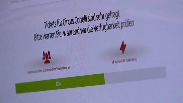 Falsche Tickets zu horrenden Preisen: Conelli warnt vor Ticketbetrüger Viagogo (30. 11. 2017)