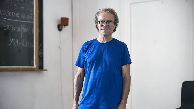 Sandro Lunin: Nach seinem ersten Jahr in der Kaserne blickt der Theaterleiter optimistisch in die Zukunft.