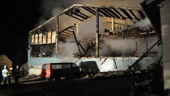 Grossbrand zerstört Broki in Wöschnau SO