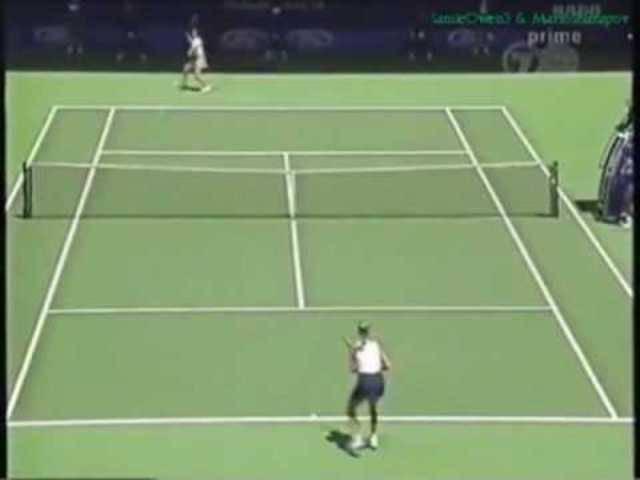 Martina Hingis vs Mary Pierce 1997 AO Highlights