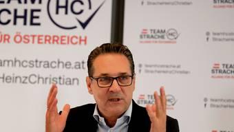 Der ehemalige FPÖ-Chef Heinz-Christian Strache strebt bei den Wahlen in Wien ein politisches Comeback an. (Archivbild)