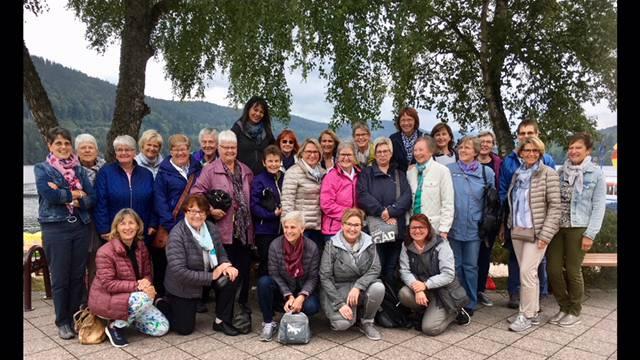 29 Teilnehmerinnen waren auf Jubiläumsfahrt in den Schwarzwald.