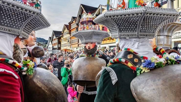Das traditionelle Silvesterchlausen in Appenzell Ausserrhoden fällt wegen der Coronapandemie aus (Archivbild).