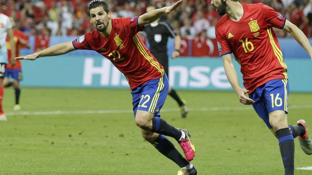 Will auch mit Manchester City Tore feiern: Spaniens Stürmer Nolito
