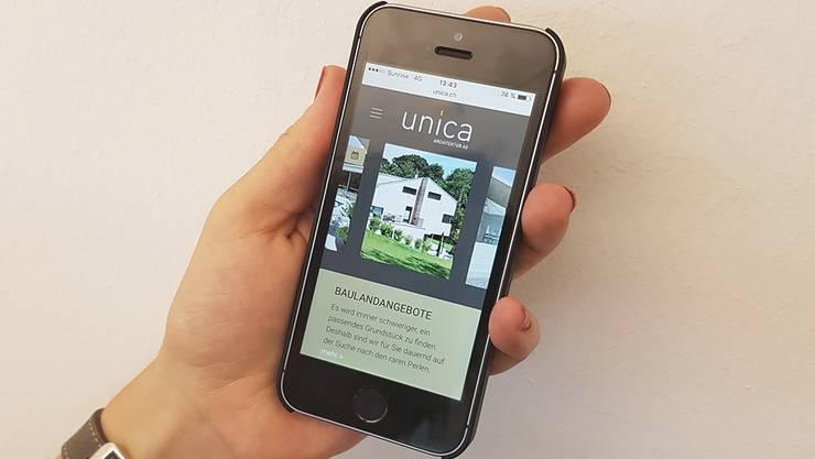 Der neue Webauftritt: www.unica.ch