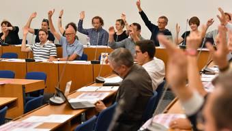 Das Oltner Gemeindeparlament votiert gegen eine Steuererhöhung (Themenbild).