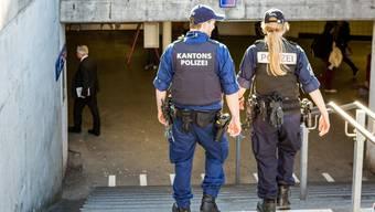 Die Polizei konnte die Vandalen von Zofingen schnappen. (Symbolbild)