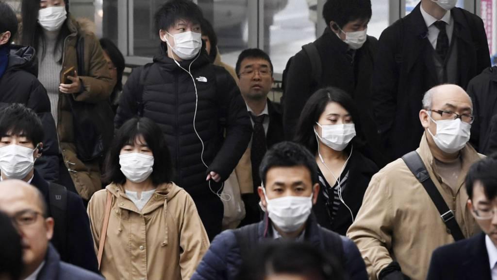 Höhepunkt der Lungenkrankheit in China in einer Woche