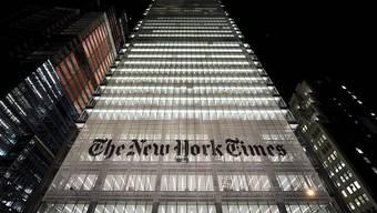 """Die """"New York Times"""" ist mit den Pulitzer-Preisen ausgezeichnet worden. (Symbolbild)"""