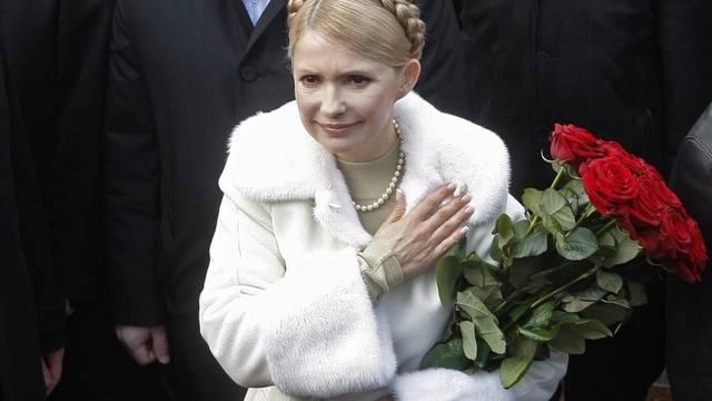Für den Friedensnobelpreis nominiert: Die inhaftierte ukrainische Politikerin Julia Timoschenko (Archiv)