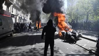 Gelbwestenproteste in Frankreich