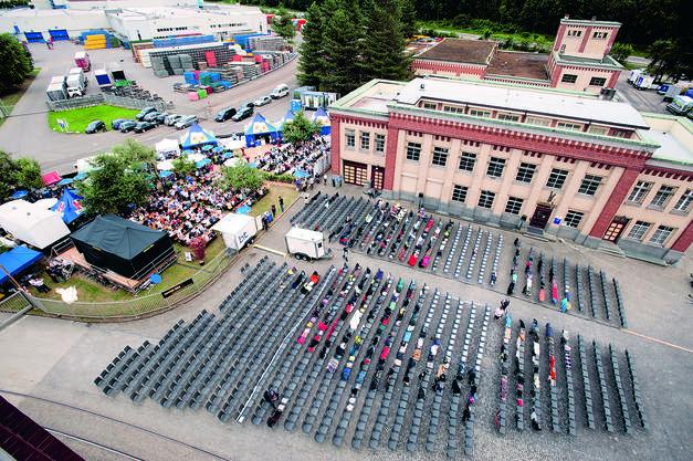 Das Openairkino Rheinfelden findet auch dieses Jahr auf dem Schalanderplatz statt.