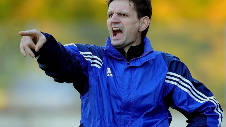 Baden-Trainer Mirko Pavlicevic