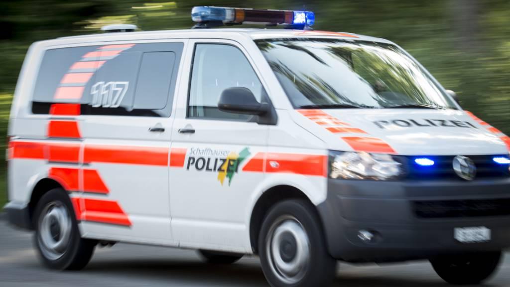 Grosseinsatz der Polizei in Beringen SH