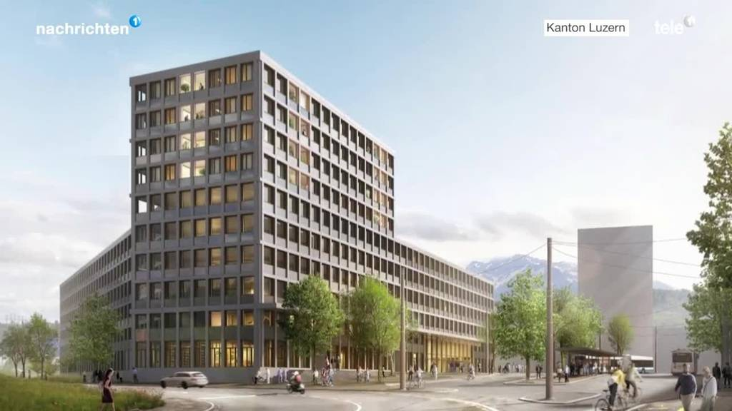 In Luzern wird Fläche von 250 4-Zimmer-Wohnungen frei