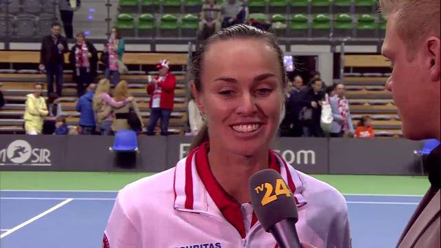Martina Hingis nach Fed-Cup-Comeback