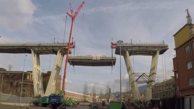 Italien startet Abriss der Genua-Brücke
