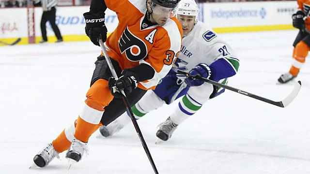 Erfolgreich: Mark Streit mit den Philadelphia Flyers