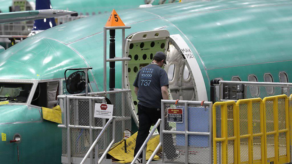 Boeing schliesst Software-Update für 737 Max ab. (Archivbild)
