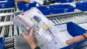 Versandapotheken dürfen Medikamente nur noch gegen ein Rezept verschicken. (Symbolbild)