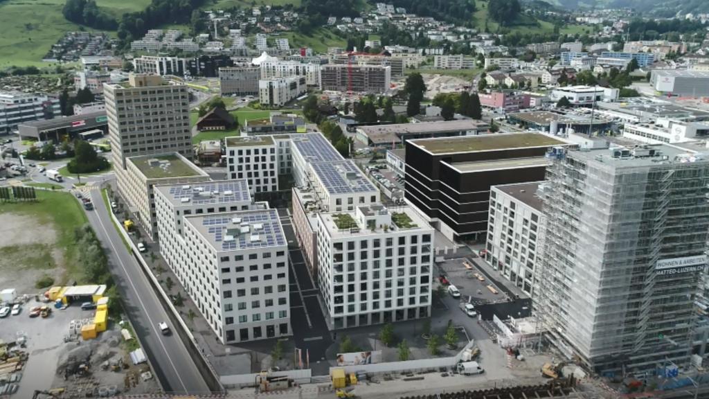 Eröffnung Mattenhof Überbauung