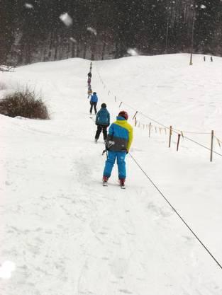 Der Skilift Sebleten