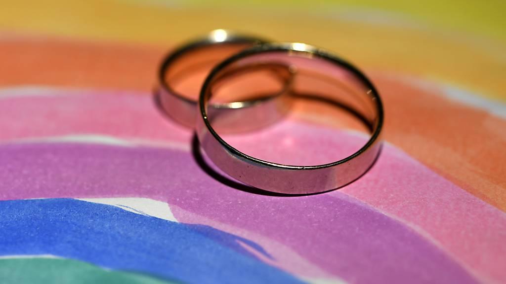 In Costa Rica ist die erste offiziell anerkannte gleichgeschlechtliche Ehe Mittelamerikas geschlossen worden. Die Hochzeit zwischen zwei Frauen wurde live im staatlichen Fernsehen übertragen. (Symbolbild)