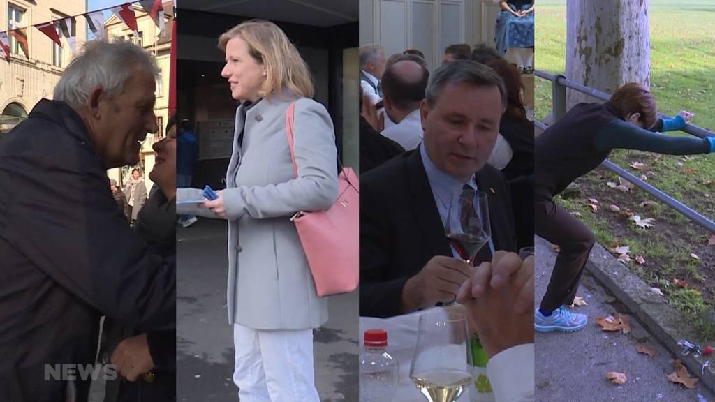 Wie nervös sind die Kandidierenden vor der Wahl?