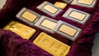Übergabe Klingnauer Goldfund (20.10.2017)