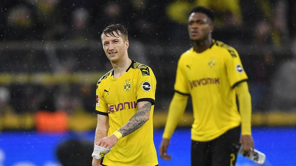 Wieder Schmerzen: Marco Reus fällt beim BVB für rund einen Monat aus