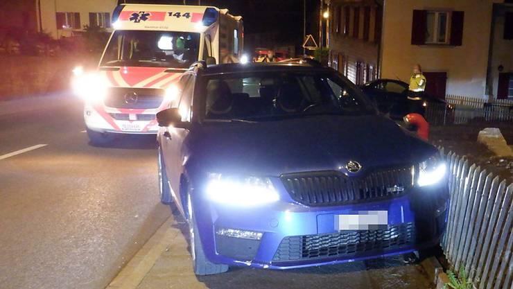 Ein Autofahrer, der in Sitterdorf verunfallt ist, hatte laut Polizei mehr als 3 Promille Alkohol intus.