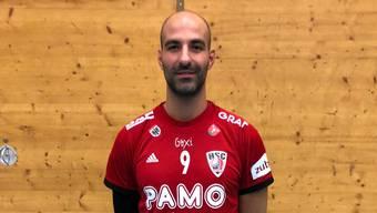 João Ferraz gibt am Sonntag sein Debüt für den HSC Suhr Aarau.