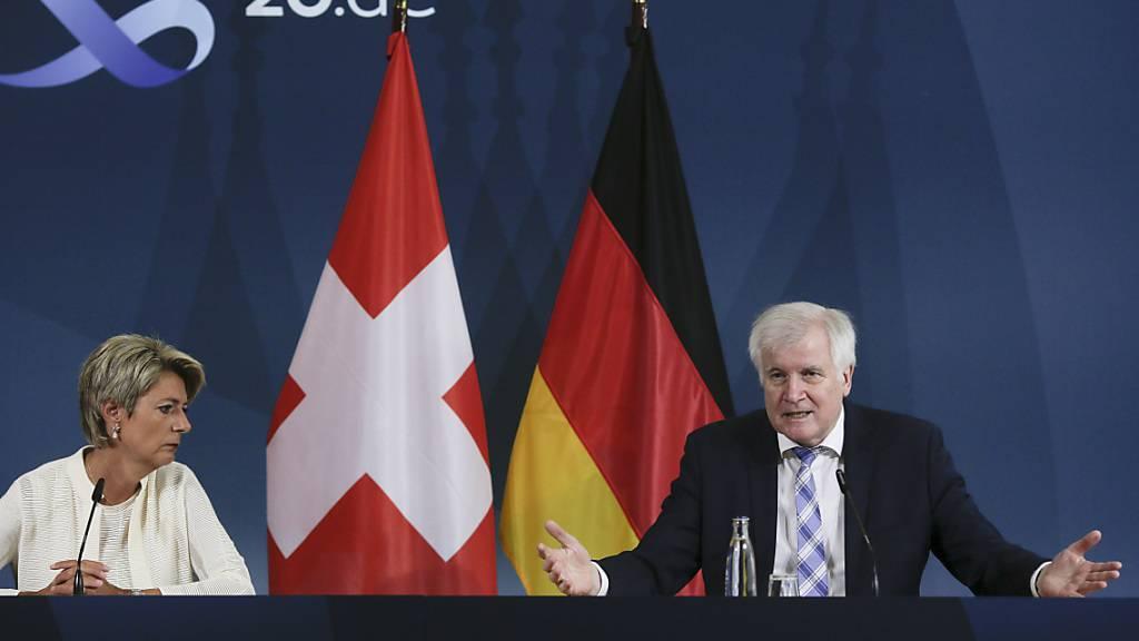 Schweiz bei der Ausgestaltung des EU-Migrationspaktes mit dabei