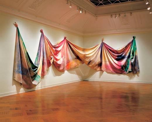 304.8 x 2269 cm; Acryl auf Leinwand Das Kunstmuseum Basel zeigt «The Music Of Color» des US-amerikanischen Künstlers Sam Gilliam