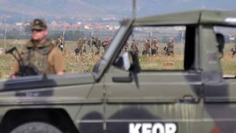 KFOR-Soldaten im Norden Kosovos