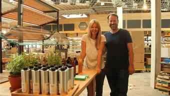 Noch vor zwei Tagen waren die Inhaber Silvia Skupin und Peter Studler im Endspurt – heute eröffnet «Local» in Wohlen.
