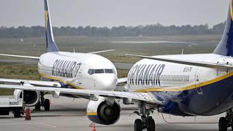 Nach dem Streik am Vortag beim Billigflieger Ryanair sind am Donnerstag wieder rund 400 Flugbewegungen von und nach Deutschland geplant.
